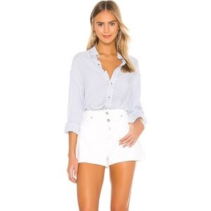 ROLLA'S WHITE DUSTERS HIGH RISE DENIM SHORTS 28